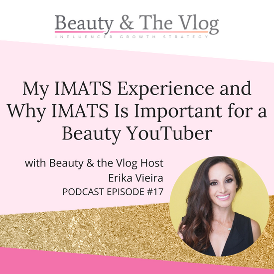 My IMATS Experience and why IMATS is important for a Beauty YouTuber: Beauty and the Vlog 1