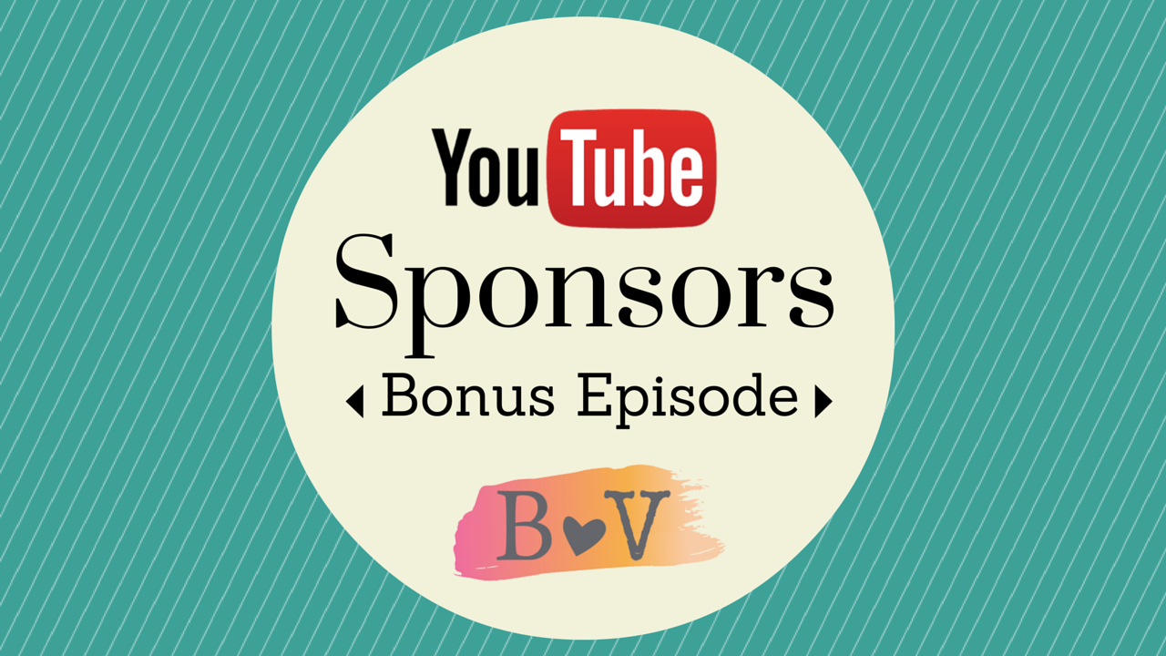 Bonus Episode #3: All About YouTube Sponsorships with Kimberly Bond of Grapevine: Beauty and the Vlog Podcast 23