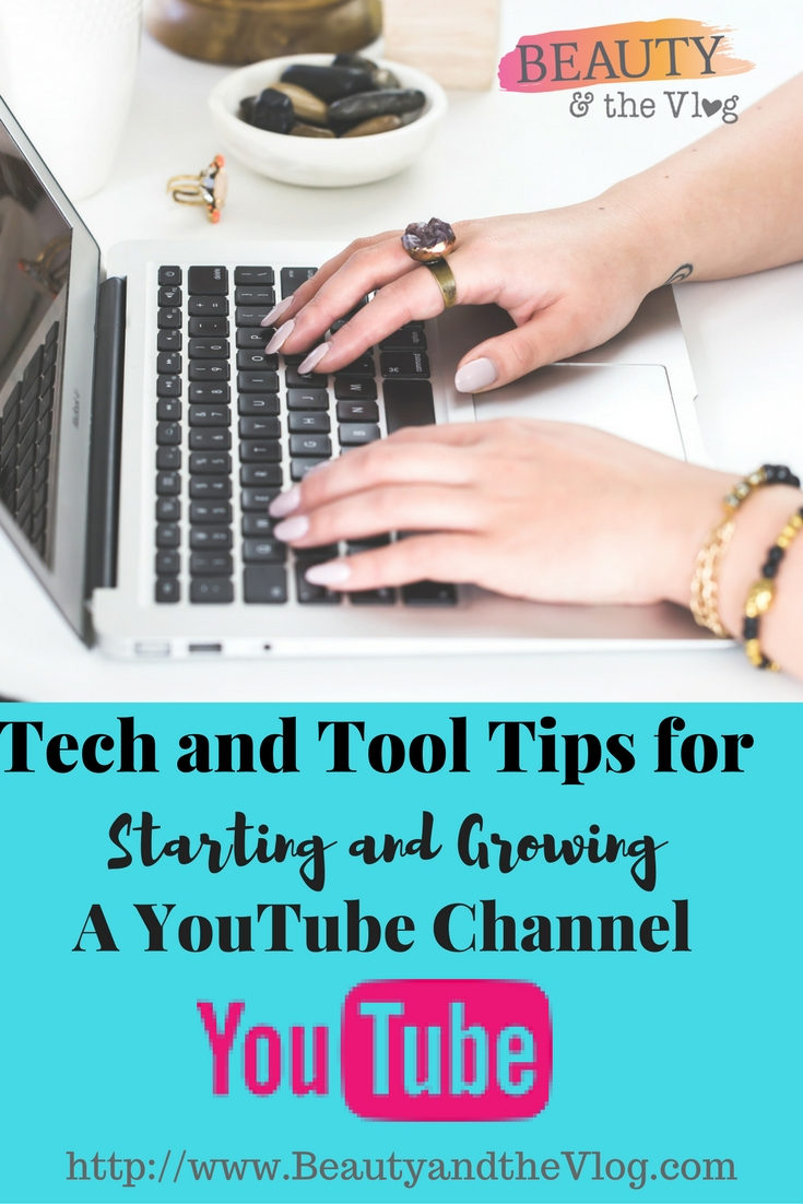 Technology and Tool Tops for Starting and Growing a YouTube Channel with Andrea Marie: Beauty and the Vlog Podcast Episode 21