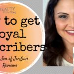 How to get Loyal YouTube Subscribers: Jen of JenLuv's Reviews: BV 46