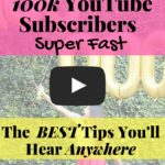 How to Grow Your YouTube Channel to 100k Subscribers Crazy Fast