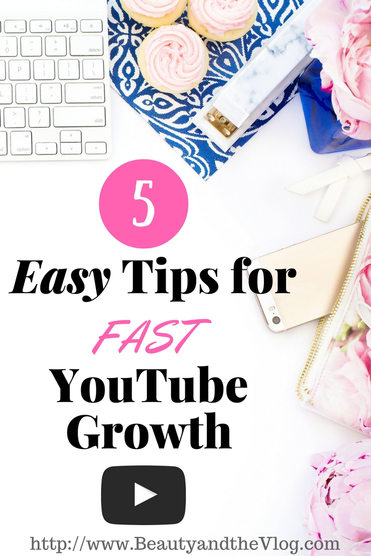 5 Simple Tips For Better People Pictures: How To Grow Your YouTube Channel Fast: Five Easy Tips