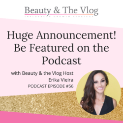 Huge Announcement! Be featured on the podcast!