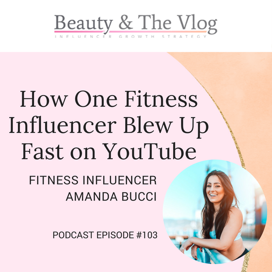 Amanda Bucci Beauty and the Vlog Erika Vieira