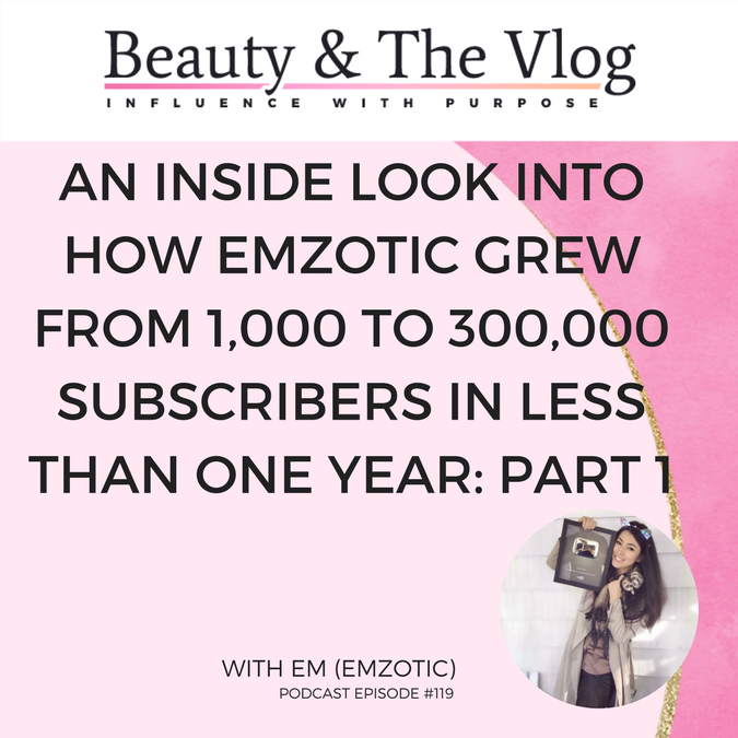Emzotic and her rise to YouTube fame
